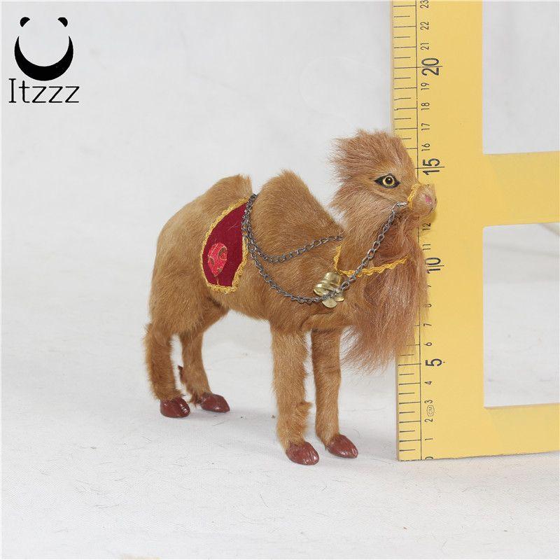 高质仿真皮毛动物骆驼摆件教学道具儿童认知模型家居装饰骆驼礼物